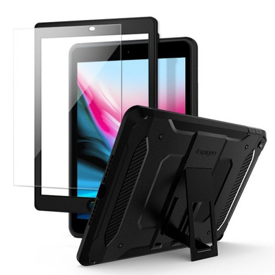 Spigen 053CS22776 Tablet case - Zwart, Transparant