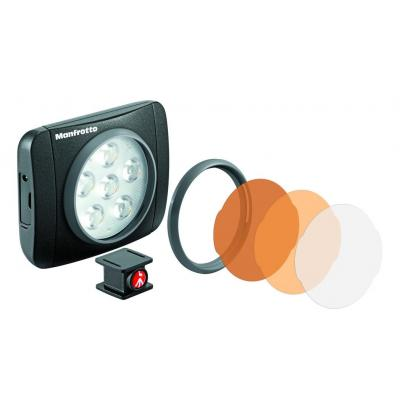 Manfrotto LED LUMIE ART Camera flitser - Zwart