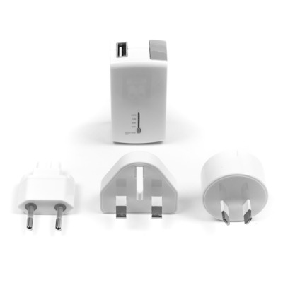 Targus 2100mAh, USB-A Powerbank - Wit