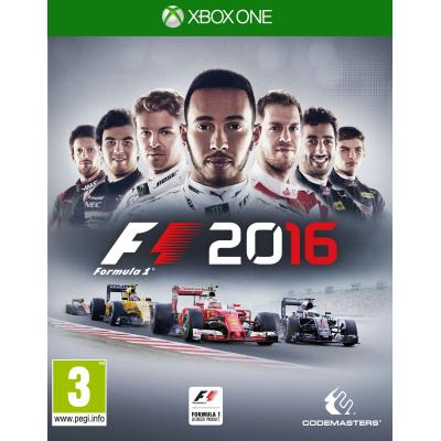 Codemasters game: Formula 1 (F1 2016)  Xbox One