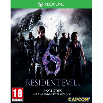 Capcom game: Resident Evil 6 (Remastered)  Xbox One