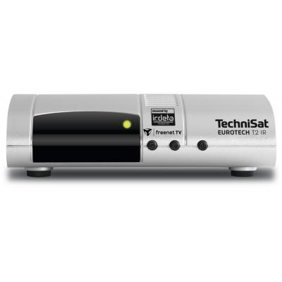 Technisat ontvanger: EUROTECH T2 IR - Zilver