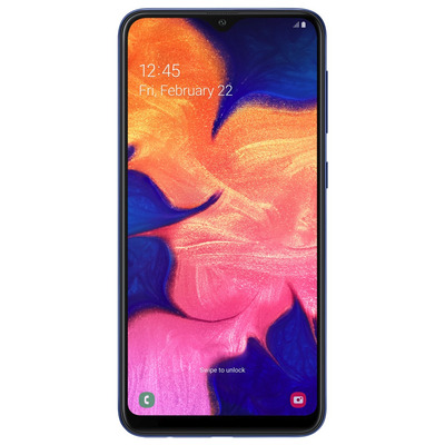 Samsung Galaxy A10 32GB Blue Smartphone - Blauw