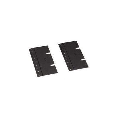 "Black Box 23""-to-19"" Rackmount Adapter, 3U Rack toebehoren - Zwart"