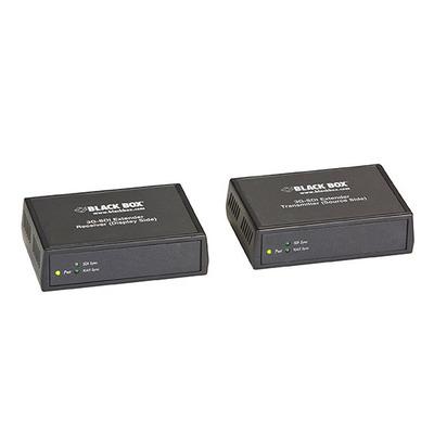Black Box 3G-SDI Extender Kit AV extender - Zwart