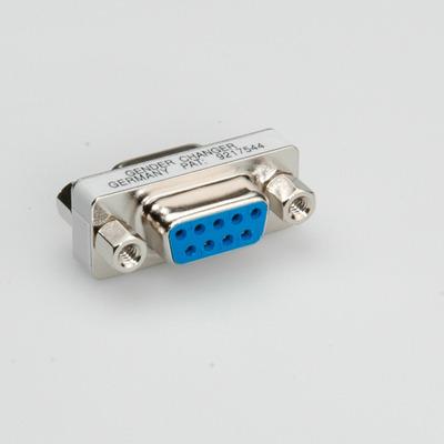 ROLINE Mini Gender Changer, 9-pin F - F Kabel adapter
