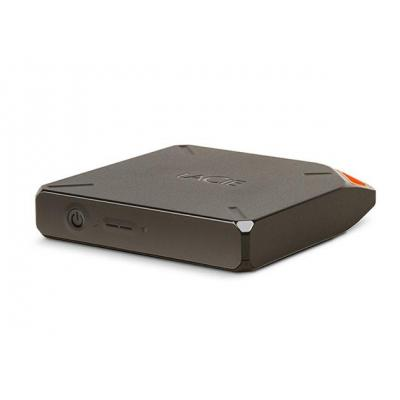 LaCie externe harde schijf: Fuel 1TB - Grijs, Oranje