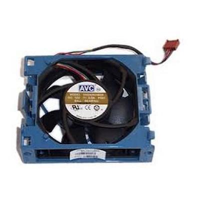 Hewlett packard enterprise cooling accessoire: Fan assembly for HP ProLiant ML350 G6 - Zwart, Blauw