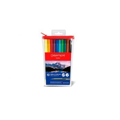 Caran d-ache verf stift: Fibralo - Multi kleuren