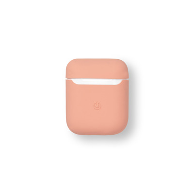 ESTUFF AirPods Silicone Case New Pink Koptelefoon accessoire - Perzik