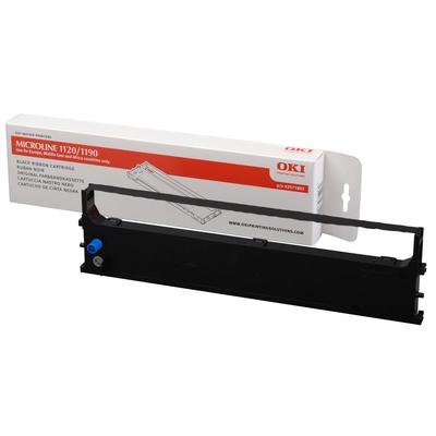 OKI Zwart tapecartridge ML 1120/1190 Printerlint