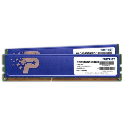 Patriot Memory PSD316G1600KH RAM-geheugen