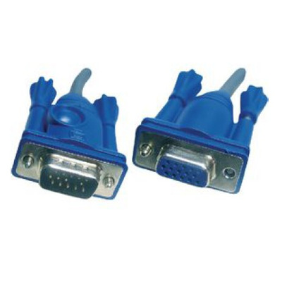 ATEN 2L-2401 - VGA M/F 1.8m VGA kabel  - Blauw,Grijs
