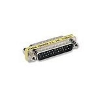 C2G DB25 M/M Mini Gender Changer Kabel adapter