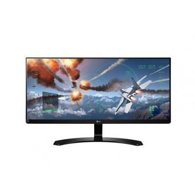 Lg monitor: Ultrawide 29'' Full HD IPS LED Monitor - 29UM68 - Zwart