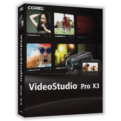 Corel videosoftware: VideoStudio Pro X3