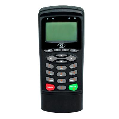 Acs smart kaart lezer: Indoor, USB 2.0, LCD, 77x181.5x30.5mm, 235g, Black - Zwart