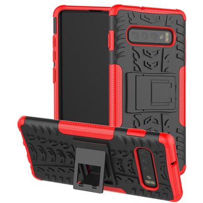 CoreParts MOBX-COVER-S10SM-G973-R Mobile phone case - Rood