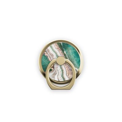IDeal of Sweden Magnetic Ring Golden Jade Marble Houder - Marmerkleur