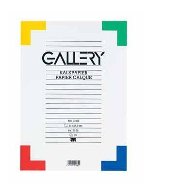 Gallery creatief papier: BUNDEL 20BL.KALKPAP.A4 70-75GR