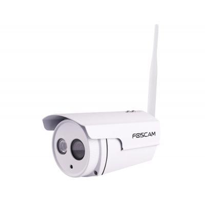 Foscam beveiligingscamera: 1MP, CMOS, 30 fps, 1280 x 720, 0lx - Wit