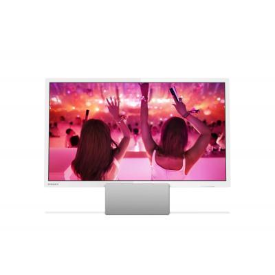 Philips led-tv: 5200 series Ultraslanke Full HD LED-TV - Zilver, Wit