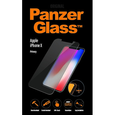 PanzerGlass Apple iPhone X/Xs Standard Fit Privacy Screen protector - Transparant