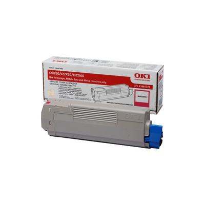OKI cartridge: Magenta toner voor C5850 5950