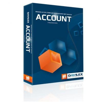 Davilex financiele analyse-software: Account