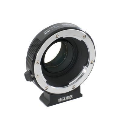 Metabones lens adapter: Leica R to BMCC Speed Booster, 0.64x - Zwart, Chroom