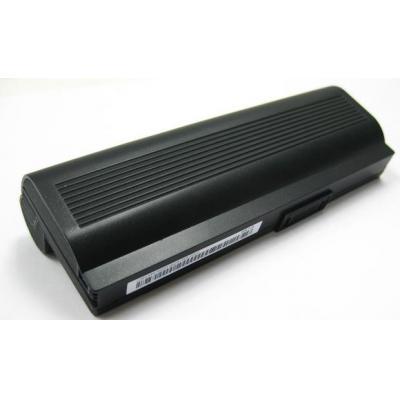 Asus notebook reserve-onderdeel: 901-1B Battery 6-Cell, 8700mAH, Black - Zwart