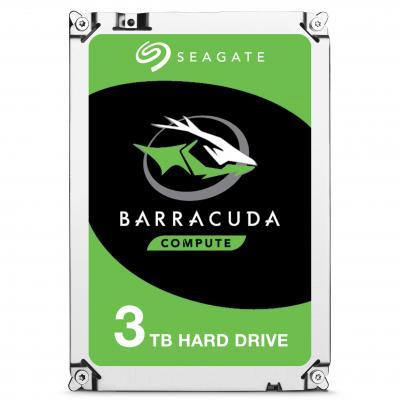 Seagate interne harde schijf: Barracuda 3TB SATAIII, 3.5'', 7200 RPM, 64MB cache