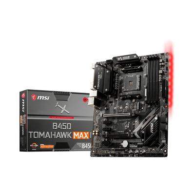 MSI AMD B450, AM4, 4x DDR4, PCIe 3.0 x16, PCIe x1, HDMI, DVI-D, 1G LAN, SATA III, M.2, USB 3.2, ATX, 305x244 mm .....