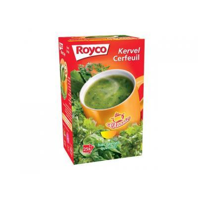 Royco voedingswaar: Minute soup Kervel/ds 25 zakjes