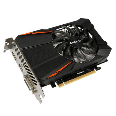 Gigabyte videokaart: GeForce GTX 1050 Ti D5 4G - Zwart