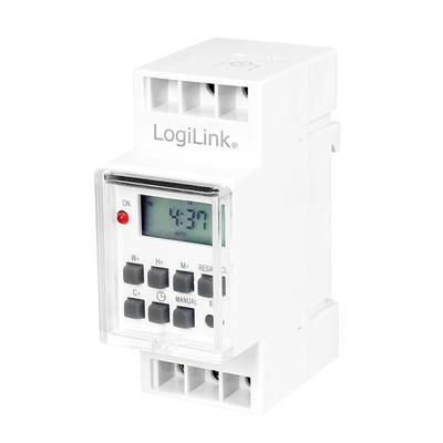 LogiLink ET0010 Elektrische timer - Wit