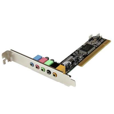 Startech.com geluidskaart: 5.1 kanaals PCI surround sound-kaartadapter
