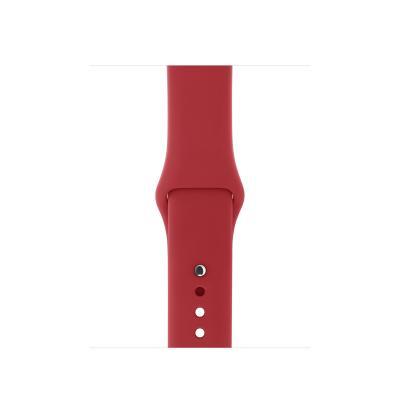 Apple : Sportbandje - (PRODUCT)RED (38 mm) - S/M en M/L - Rood
