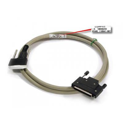 "Hewlett packard enterprise SCSI kabel: SP/CQ Cable vertical ofset, SCSI 6"" - Grijs"