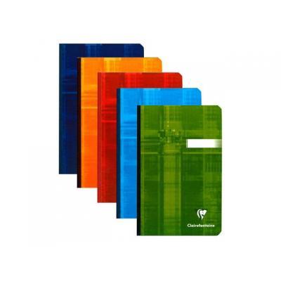 Clairefontaine schrijfblok: Notitieboek 110x170 ruit 192blz/pk 5