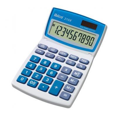 Rexel calculator: Ibico 210X Bureaurekenmachine