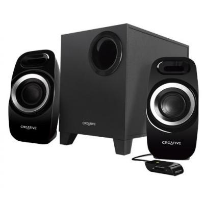 Creative labs luidspreker set: INSPIRE T3300 - Zwart