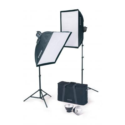 Kaiser fototechnik softbox: studiolight 1010 - Zwart, Wit