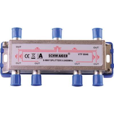 Schwaiger VTF8846241 kabel splitter of combiner