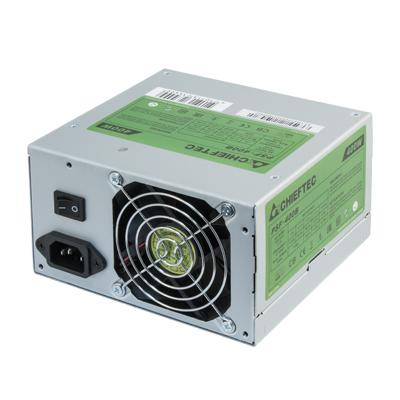 Chieftec 400 W, ATX 12V 2.3, 110V-240V / 6A, 47-63 Hz, 140 x 150 x 87 mm Power supply unit - Metallic