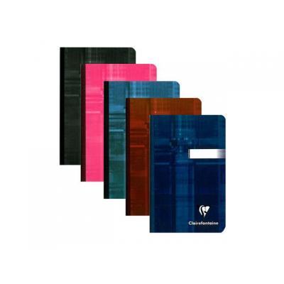 Clairefontaine register: Notitieboek 90x140 ruit 192blz/pk 5