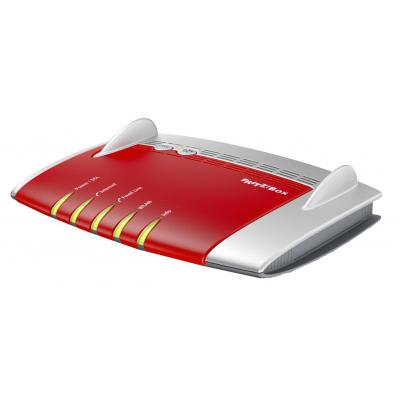 Avm wireless router: FRITZ!Box FRITZ!Box 7490 International - Rood, Zilver