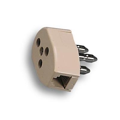 Fanton stekker-adapter: ADLS - Wit