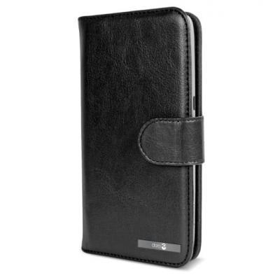 Doro mobile phone case: Wallet case Liberto 822/8028/8030/8031 - Zwart