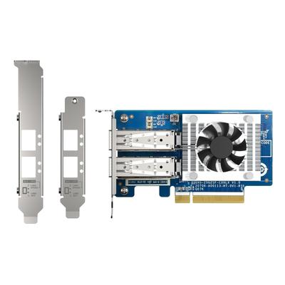 QNAP 2x 25G, SFP28, PCIe Gen4 x8 Netwerkkaart